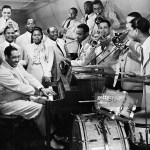 """The Duke Ellington Orchestra performs """"Take the A Train"""" with singer Bette Roche in the film Reveille with Beverly, released January 1943."""