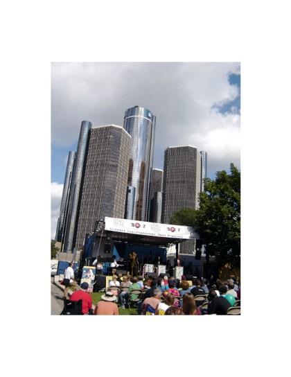 Det Jazz Fest towers